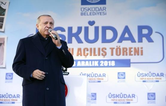 Cumhurbaşkanı Erdoğan: Atatürk Havalimanı'nı millet bahçesine çeviriyoruz!