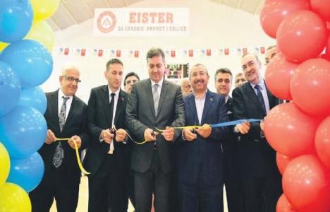 Bosna Hersek'te 1500 kişilik spor salonu hizmete açıldı!