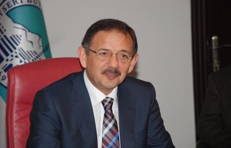 Mehmet Özhaseki: Askeri arazilerden rant bekleyenler avuçlarını yalar!