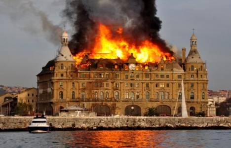 Haydarpaşa Garı'nın yangın sebebi izmarit ve izolasyon malzemesi!