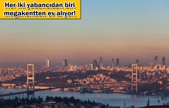 Yabancıların konutta ilk tercihi İstanbul!