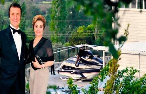 Ahmet Zorlu'nun içinde bulunduğu helikopterde kaza meydana geldi!