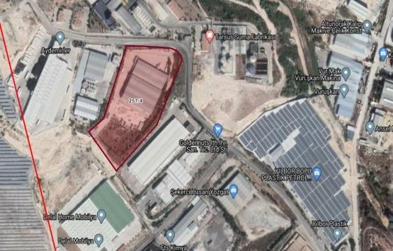 Mersin'de 14.8 milyon TL'ye icradan satılık fabrika binası!
