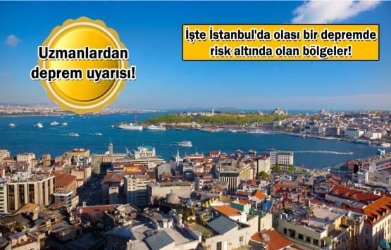 Son dakika: İstanbul'da alarm veren ilçeler!