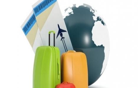 Yabancı ziyaretçilerin yüzde