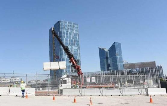 AOÇ'deki ABD Elçiliği binasının inşaatı hızlandı!