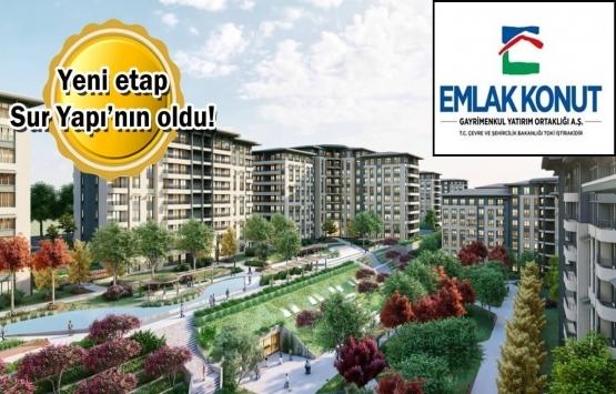 Emlak Konut GYO Bizim Mahalle 1.Etap 4.Kısım için imzalar atıldı!