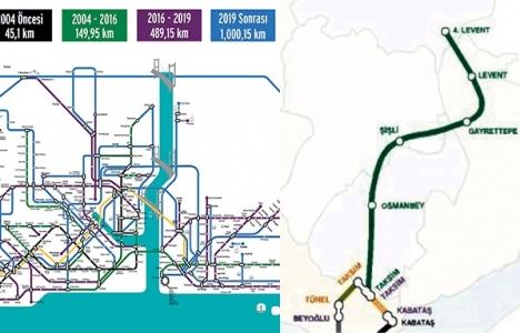 İstanbul'da hedef 1.000 kilometrelik metro ağı!