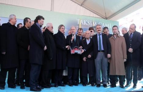 Taksim Camii'nin temeli
