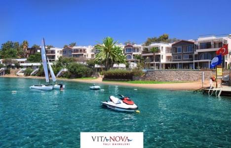 Bodrum Vita Nova Yalı Evleri' nde fiyatlar 400 bin TL' den başlıyor!