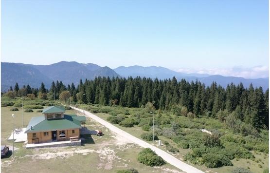 Ağaçbaşı Tabiat Parkı'na Karadeniz kültürel mimarisine uygun evler inşa edilecek!