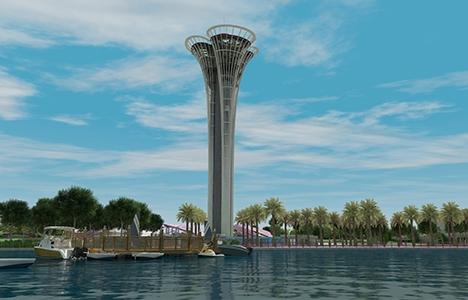 Antalya Expo Kulesi 6 ayda tamamlanacak!