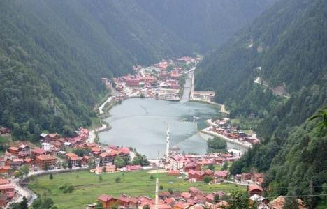 Trabzon Uzungöl'deki 20 kaçak yapıya yıkım kararı!