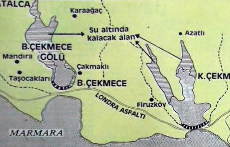1984 yılında Büyükçekmece Gölü baraj haline getirilecekmiş!
