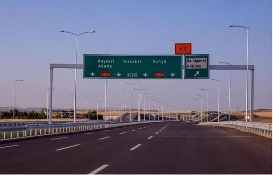 Ankara-Niğde Otoyolu'nun ikinci kesimi yarın açılacak!