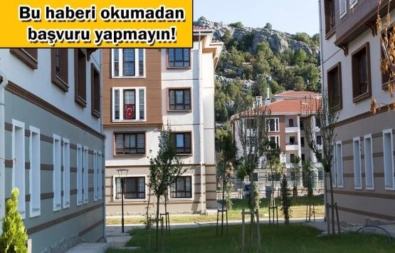 TOKİ'den ev almak isteyen vatandaşlar dikkat!