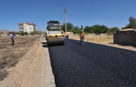 Safranbolu'da yollar asfaltlanıyor!