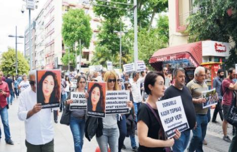 Kadıköy'de Kurbağalıdere protesto