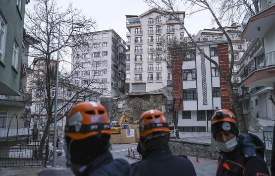 Ankara'daki Açelya Apartmanı'nın çatısı çöktü!