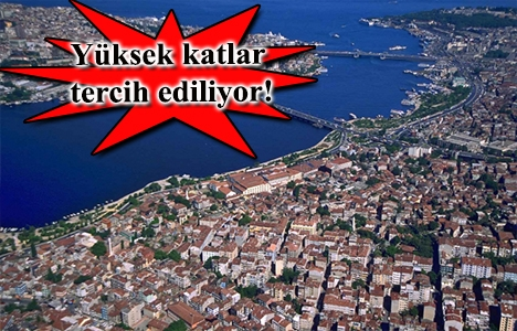 İstanbul'daki deniz manzaralı