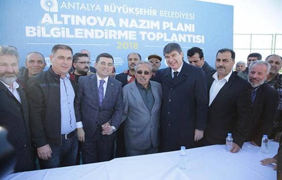 Antalya Altınova'nın imar