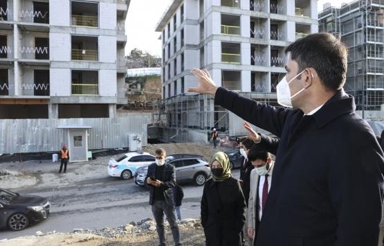 Murat Kurum, Kirazlıtepe Kentsel Dönüşüm Projesi'ni inceledi!