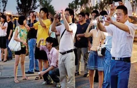 Çinli turistler günde 1000 dolar harcıyor!