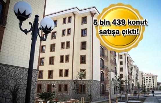 TOKİ'den dev fırsat! 343 lira taksitle ev sahibi olabilirsiniz!