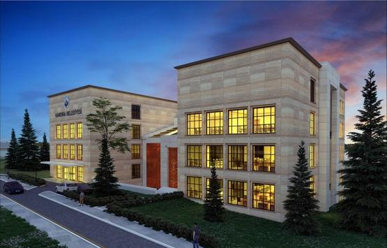 Kandıra Belediyesi yeni hizmet binasının inşaatı başladı!