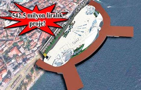 Kabataş Deniz Terminali'nin