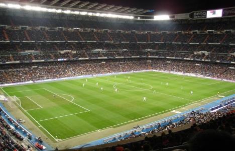 Santiago Bernabeu Stadı