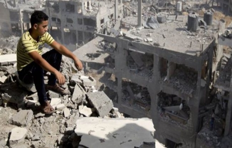 Gazze'nin yüzde 40'ı