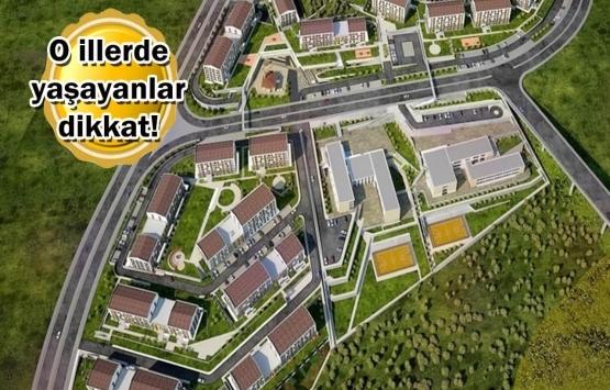 TOKİ'den 519 lira taksitle ev sahibi olma fırsatı!