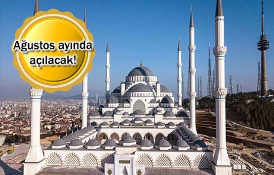 Çamlıca Camii'nden son