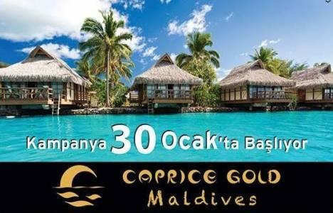 Caprice Gold Maldives nerede? 170 milyon dolarlık ada!