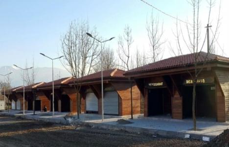 Bursa Osmangazi'deki Üretici Pazarı'nda 16 dükkan inşa edildi!