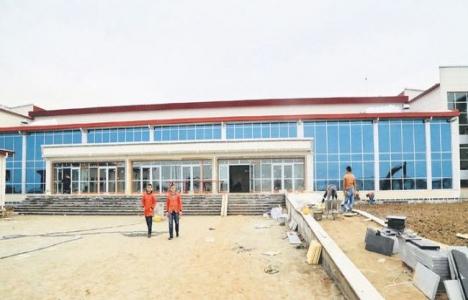 Sincan Cezaevi Yerleşkesi'ndeki dev salon inşaatında sona gelindi!
