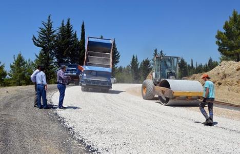 Antalya Döşemealtı'ndan Isparta'ya yeni yol yapılıyor!