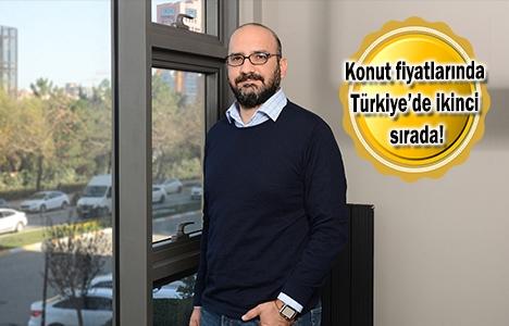 İzmir'de konutların ortalama