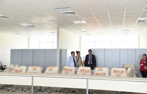 Vasip Şahin Anadolu Yakası Afet Yönetim Merkezi'ni inceledi!