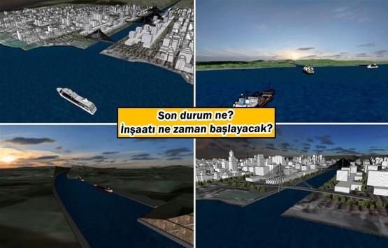Çılgın proje 'Kanal İstanbul' ile ilgili flaş gelişme!
