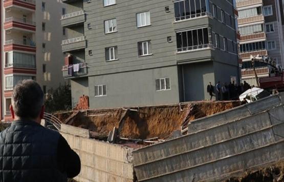 Samsun'da istinat duvarı çöken bina sağlam çıktı!