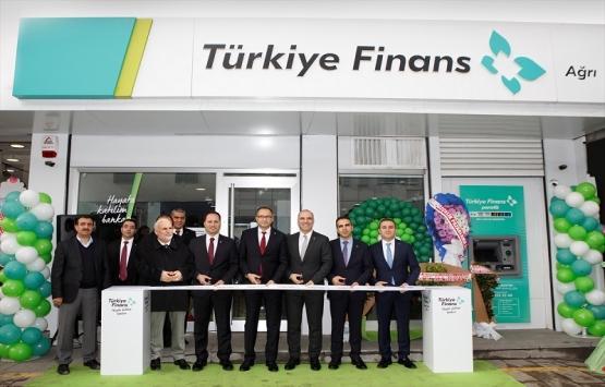 Türkiye Finans, Ağrı'daki ilk şubesini hizmete açtı!