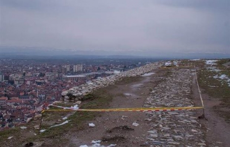 Prizren Kalesi'nin dış