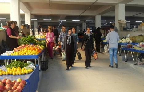 Kuşadası'na kapalı pazar