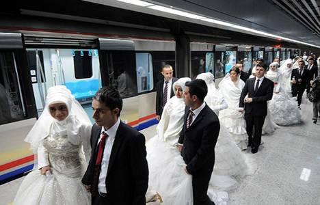 Marmaray'la seyahat edip