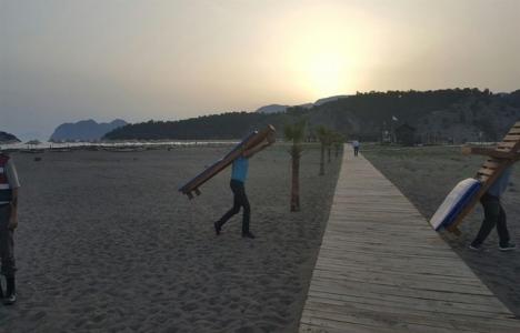 İztuzu Plajı tahliye