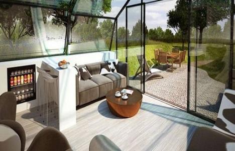 Daha sağlıklı bir yaşam için; transparan ev!