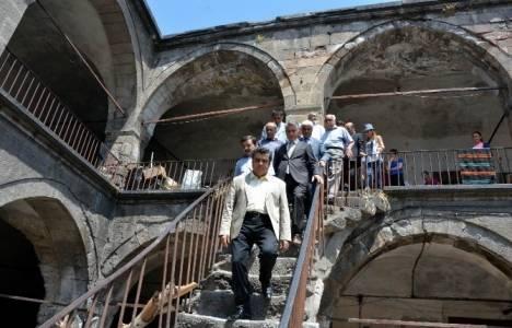 Kayseri Vezir Han 15 Ağustos'ta restore edilecek!