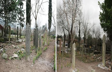Maşukiye'de tarihi mezar taşları restore ediliyor!